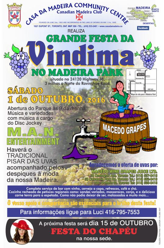 Vindima 2016 no Madeira Park